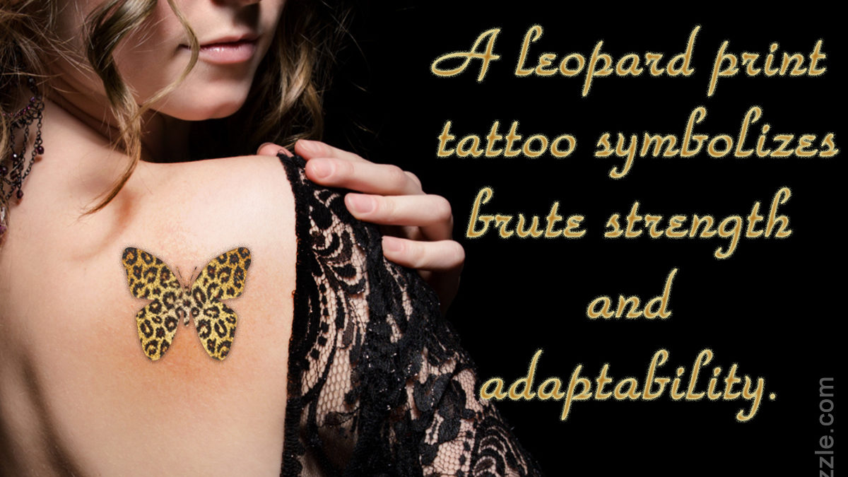 Leopard Print Tattoo Meanings And Creative Design Ideas Thoughtful Tattoos
