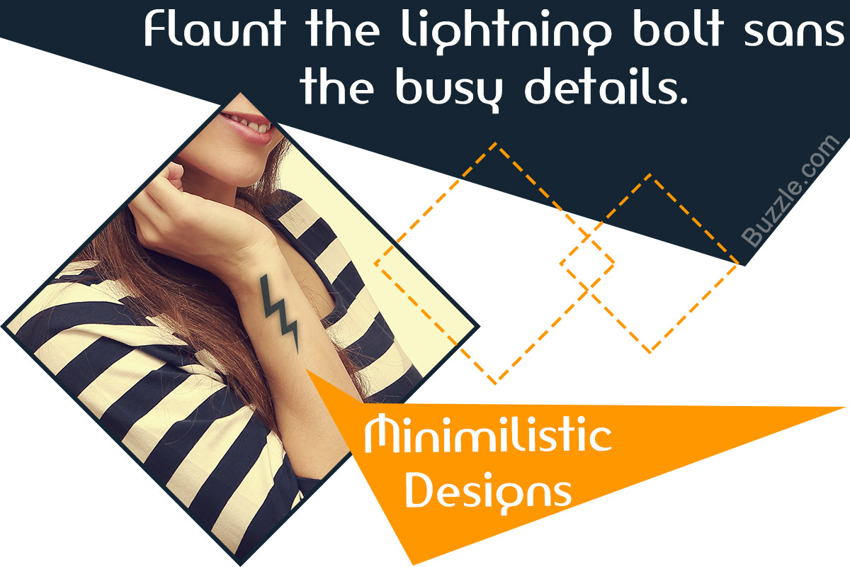 Lightning Bolt Tattoo Meaning And Really Creative Design Ideas Thoughtful Tattoos